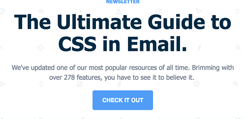 email cta example